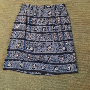 Talbots beautiful women's skirt